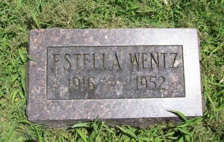 WENTZ, ESTELLA - Benton County, Arkansas | ESTELLA WENTZ - Arkansas Gravestone Photos