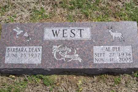 WEST, AL DEE - Benton County, Arkansas | AL DEE WEST - Arkansas Gravestone Photos
