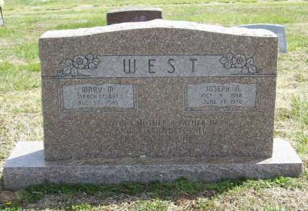 WEST, JOSEPH A. - Benton County, Arkansas | JOSEPH A. WEST - Arkansas Gravestone Photos