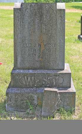 WEST, JOHN WILLIAM ELD - Benton County, Arkansas | JOHN WILLIAM ELD WEST - Arkansas Gravestone Photos