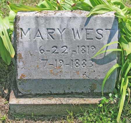 WEST, MARY - Benton County, Arkansas | MARY WEST - Arkansas Gravestone Photos