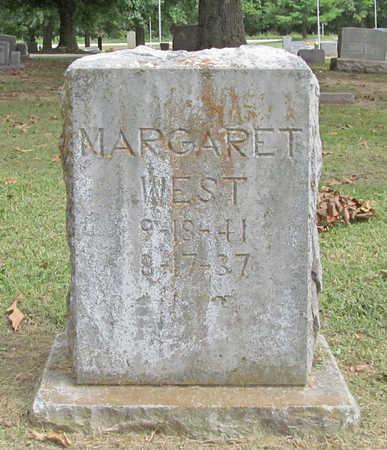 WEST, MARGARET - Benton County, Arkansas | MARGARET WEST - Arkansas Gravestone Photos
