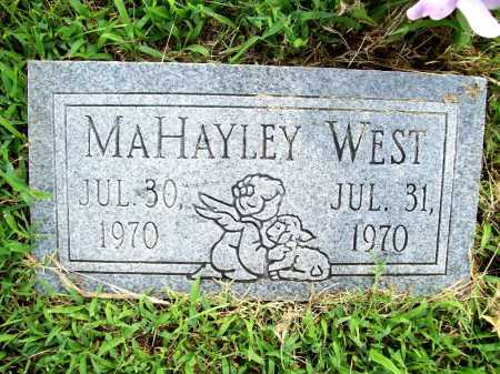 WEST, MAHAYLEY - Benton County, Arkansas | MAHAYLEY WEST - Arkansas Gravestone Photos