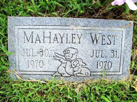 WEST, MAHAYLEY - Benton County, Arkansas   MAHAYLEY WEST - Arkansas Gravestone Photos