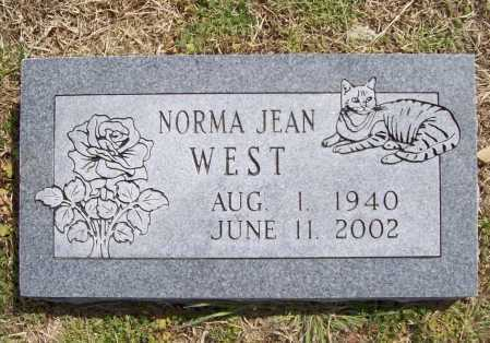 WEST, NORMA JEAN - Benton County, Arkansas | NORMA JEAN WEST - Arkansas Gravestone Photos