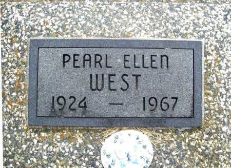 WEST, PEARL ELLEN - Benton County, Arkansas | PEARL ELLEN WEST - Arkansas Gravestone Photos
