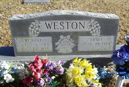 WESTON, BURREL - Benton County, Arkansas | BURREL WESTON - Arkansas Gravestone Photos