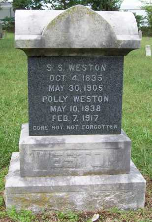 WESTON, POLLY - Benton County, Arkansas | POLLY WESTON - Arkansas Gravestone Photos