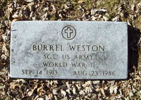 WESTON (VETERAN WWII), BURREL - Benton County, Arkansas | BURREL WESTON (VETERAN WWII) - Arkansas Gravestone Photos