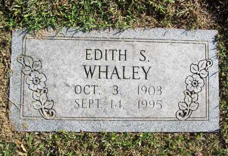 WHALEY, EDITH S. - Benton County, Arkansas | EDITH S. WHALEY - Arkansas Gravestone Photos