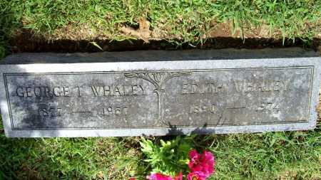 WHALEY, EDITH - Benton County, Arkansas | EDITH WHALEY - Arkansas Gravestone Photos