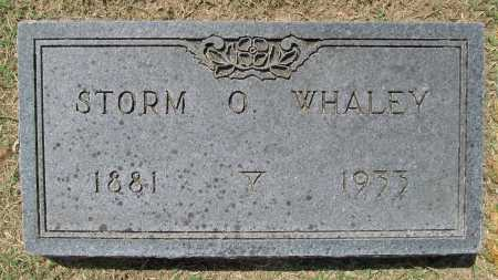 WHALEY (2), STORM O. - Benton County, Arkansas | STORM O. WHALEY (2) - Arkansas Gravestone Photos