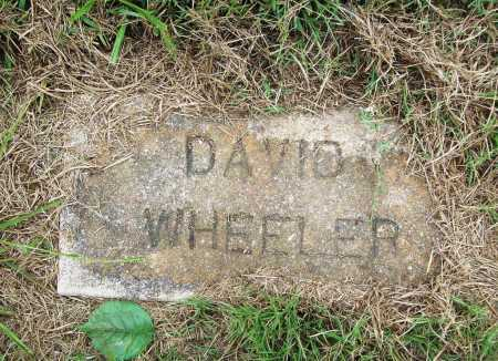 WHEELER, DAVID - Benton County, Arkansas | DAVID WHEELER - Arkansas Gravestone Photos