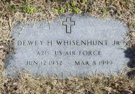 WHISENHUNT (VETERAN), DEWEY H., JR. - Benton County, Arkansas | DEWEY H., JR. WHISENHUNT (VETERAN) - Arkansas Gravestone Photos