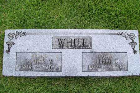 WHITE, GLADYS M. - Benton County, Arkansas | GLADYS M. WHITE - Arkansas Gravestone Photos
