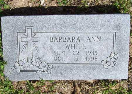 WHITE, BARBARA ANN - Benton County, Arkansas | BARBARA ANN WHITE - Arkansas Gravestone Photos