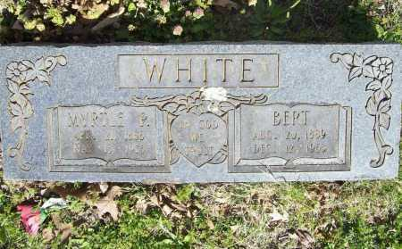 "WHITE, MYRTLE  ""EMMA"" - Benton County, Arkansas 