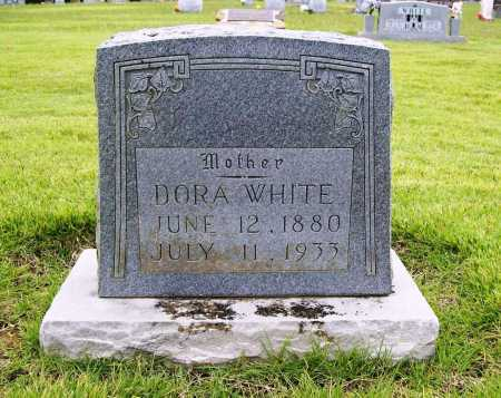 WHITE, DORA - Benton County, Arkansas | DORA WHITE - Arkansas Gravestone Photos