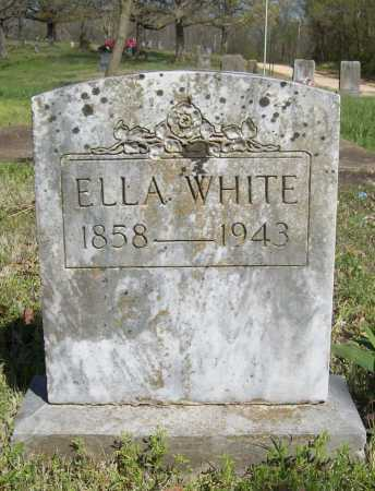WHITE, ELLA - Benton County, Arkansas | ELLA WHITE - Arkansas Gravestone Photos
