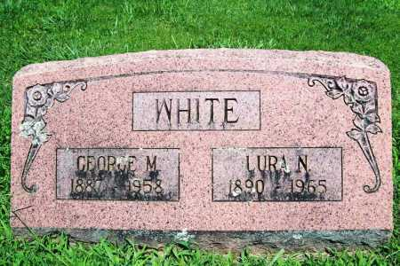 WHITE, GEORGE M. - Benton County, Arkansas | GEORGE M. WHITE - Arkansas Gravestone Photos