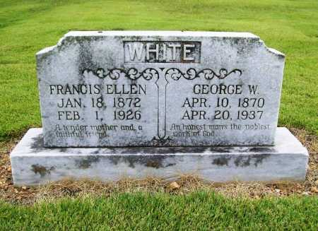 WHITE, GEORGE W. - Benton County, Arkansas | GEORGE W. WHITE - Arkansas Gravestone Photos