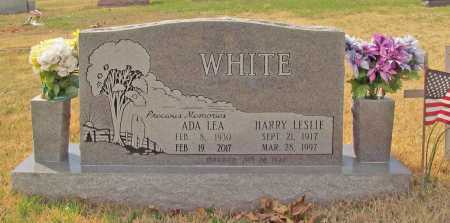 WHITE, HARRY LESLIE - Benton County, Arkansas | HARRY LESLIE WHITE - Arkansas Gravestone Photos