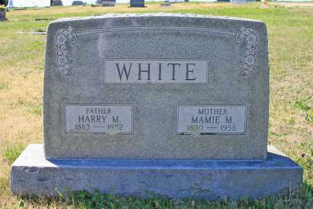 WHITE, MAMIE M - Benton County, Arkansas | MAMIE M WHITE - Arkansas Gravestone Photos