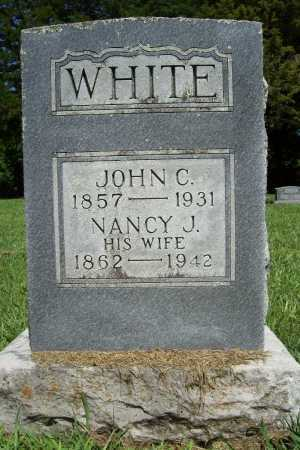 WHITE, NANCY J. - Benton County, Arkansas | NANCY J. WHITE - Arkansas Gravestone Photos