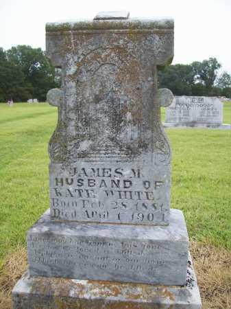 WHITE, JAMES M. - Benton County, Arkansas | JAMES M. WHITE - Arkansas Gravestone Photos