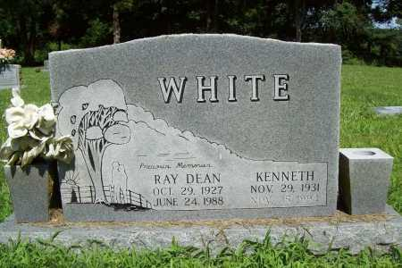 WHITE, KENNETH - Benton County, Arkansas | KENNETH WHITE - Arkansas Gravestone Photos