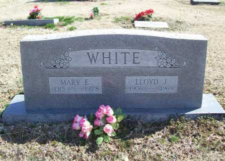 WHITE, MARY E. - Benton County, Arkansas | MARY E. WHITE - Arkansas Gravestone Photos