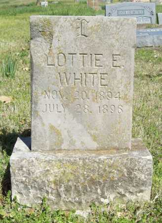 WHITE, LOTTIE E. - Benton County, Arkansas | LOTTIE E. WHITE - Arkansas Gravestone Photos