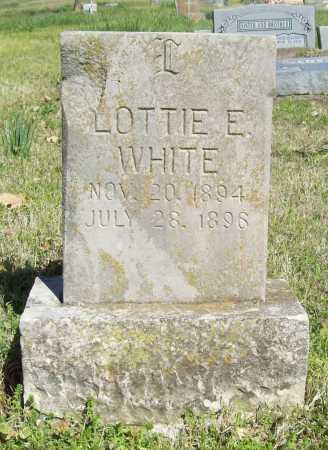 WHITE, LOTTIE E. - Benton County, Arkansas | LOTTIE E. WHITE - Arkansas Gravestone Photos