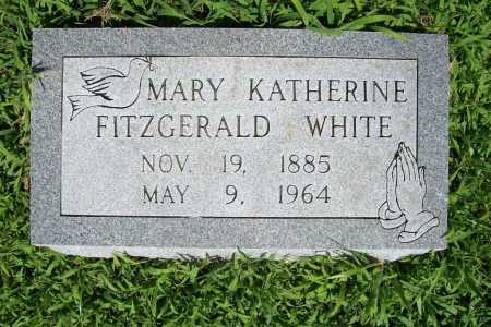 FITZGERALD WHITE, MARY KATHERINE - Benton County, Arkansas | MARY KATHERINE FITZGERALD WHITE - Arkansas Gravestone Photos