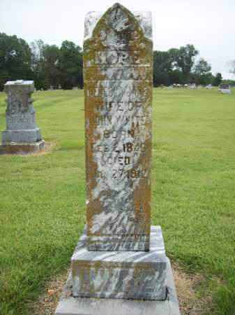 WHITE, REBECCA JANE - Benton County, Arkansas | REBECCA JANE WHITE - Arkansas Gravestone Photos