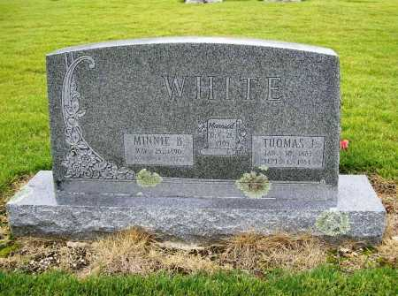 WHITE, MINNIE B. - Benton County, Arkansas | MINNIE B. WHITE - Arkansas Gravestone Photos