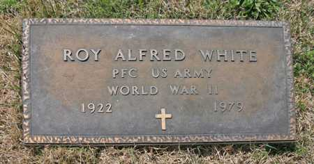 WHITE (VETERAN WWII), ROY ALFRED - Benton County, Arkansas | ROY ALFRED WHITE (VETERAN WWII) - Arkansas Gravestone Photos