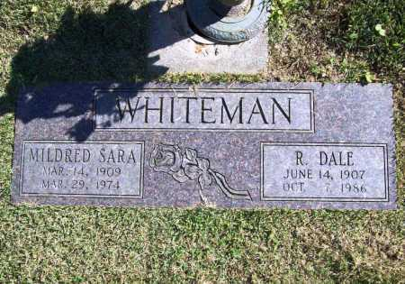 WHITEMAN, R. DALE - Benton County, Arkansas | R. DALE WHITEMAN - Arkansas Gravestone Photos