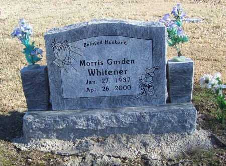 WHITENER, MORRIS GURDEN - Benton County, Arkansas | MORRIS GURDEN WHITENER - Arkansas Gravestone Photos
