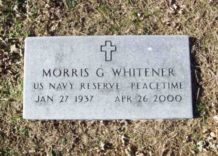 WHITENER (VETERAN), MORRIS GURDEN - Benton County, Arkansas | MORRIS GURDEN WHITENER (VETERAN) - Arkansas Gravestone Photos