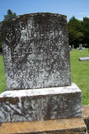 WHITEZELL, BURTLE T. - Benton County, Arkansas   BURTLE T. WHITEZELL - Arkansas Gravestone Photos