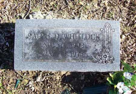 WHITLOCK, RALPH D. - Benton County, Arkansas | RALPH D. WHITLOCK - Arkansas Gravestone Photos