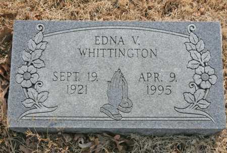 WHITTINGTON, EDNA V. - Benton County, Arkansas | EDNA V. WHITTINGTON - Arkansas Gravestone Photos