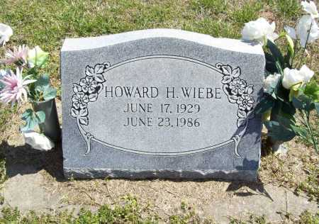 WIEBE, HOWARD H. - Benton County, Arkansas | HOWARD H. WIEBE - Arkansas Gravestone Photos
