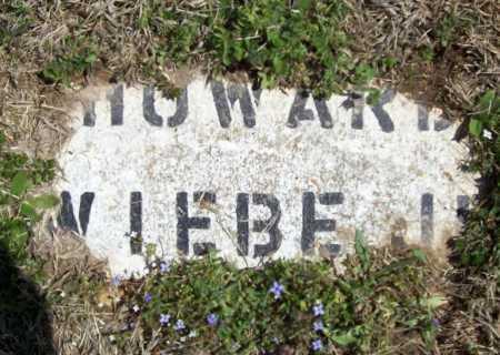 WIEBE, HOWARD JR. - Benton County, Arkansas   HOWARD JR. WIEBE - Arkansas Gravestone Photos