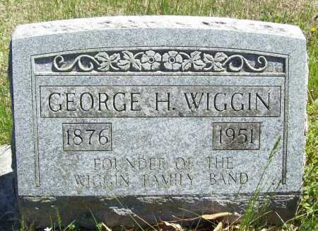 WIGGIN, GEORGE HAYES - Benton County, Arkansas | GEORGE HAYES WIGGIN - Arkansas Gravestone Photos