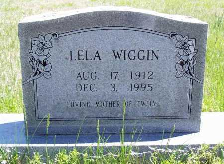 WIGGIN, LELA - Benton County, Arkansas | LELA WIGGIN - Arkansas Gravestone Photos