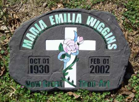 WIGGINS, MARIA EMILIA - Benton County, Arkansas | MARIA EMILIA WIGGINS - Arkansas Gravestone Photos