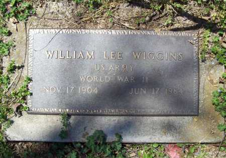 WIGGINS (VETERAN WWII), WILLIAM LEE - Benton County, Arkansas | WILLIAM LEE WIGGINS (VETERAN WWII) - Arkansas Gravestone Photos