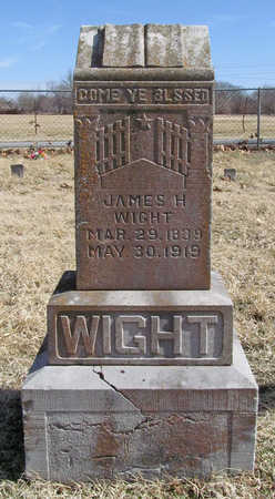 WIGHT, JAMES H - Benton County, Arkansas | JAMES H WIGHT - Arkansas Gravestone Photos